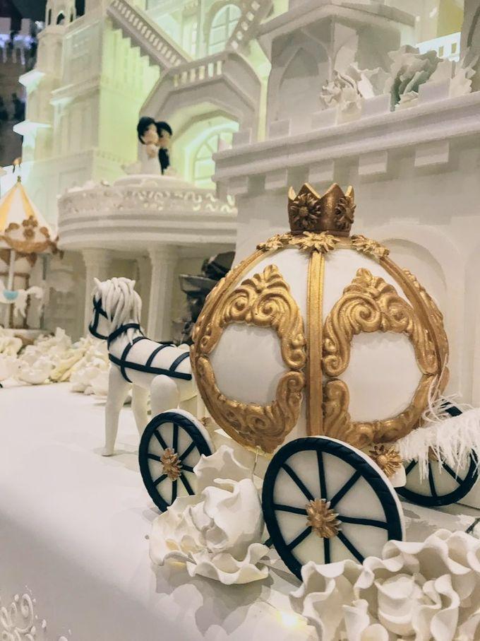 Our Wedding Cake Event by Kaylakaylie Cake & Bakery - 003