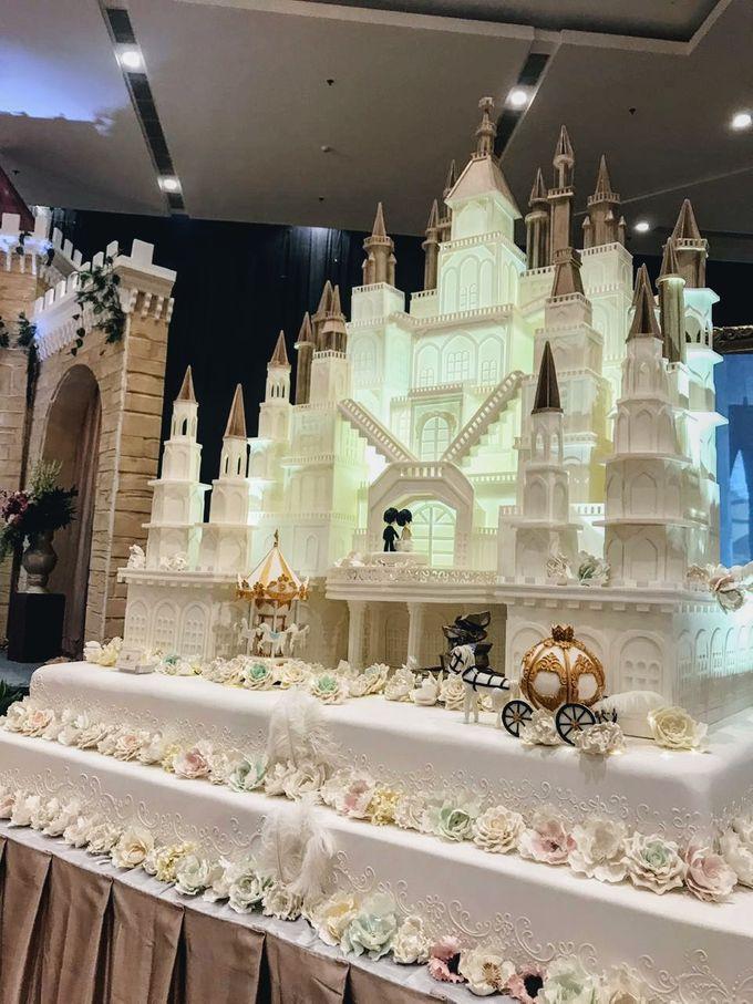 Our Wedding Cake Event by Kaylakaylie Cake & Bakery - 004