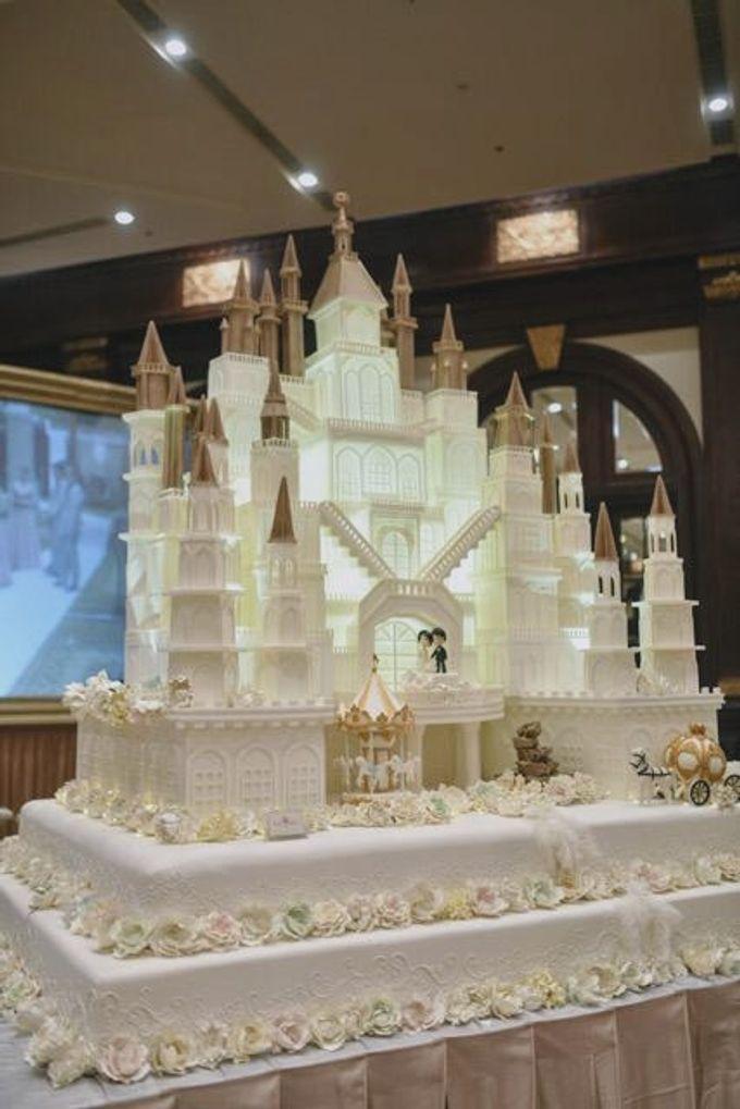 Our Wedding Cake Event by Kaylakaylie Cake & Bakery - 006
