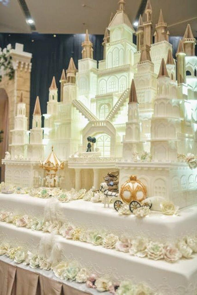 Our Wedding Cake Event by Kaylakaylie Cake & Bakery - 007