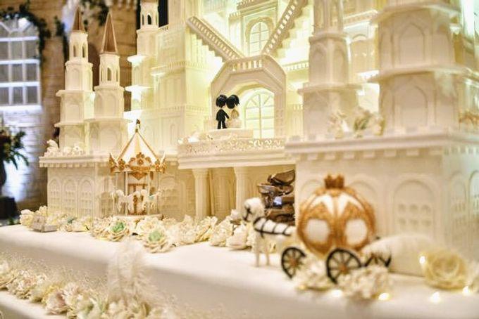 Our Wedding Cake Event by Kaylakaylie Cake & Bakery - 009