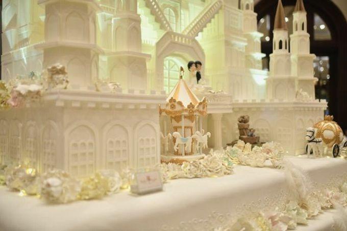 Our Wedding Cake Event by Kaylakaylie Cake & Bakery - 010