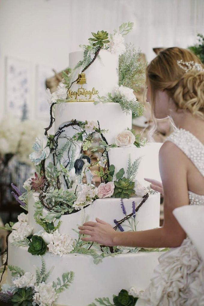 Our Wedding Cake Photo Shoot by Kaylakaylie Cake & Bakery - 004