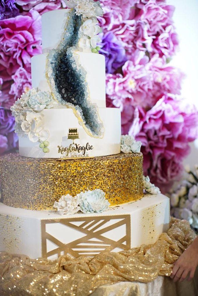Our Wedding Cake Photo Shoot by Kaylakaylie Cake & Bakery - 007
