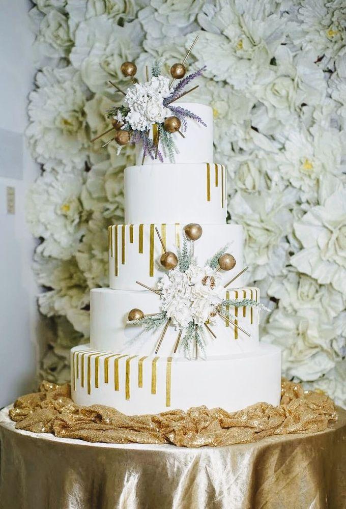 Our Wedding Cake Photo Shoot by Kaylakaylie Cake & Bakery - 012
