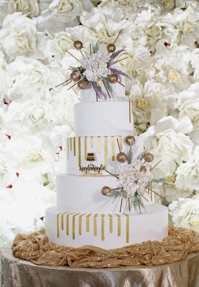 Our Wedding Cake Photo Shoot by Kaylakaylie Cake & Bakery - 014