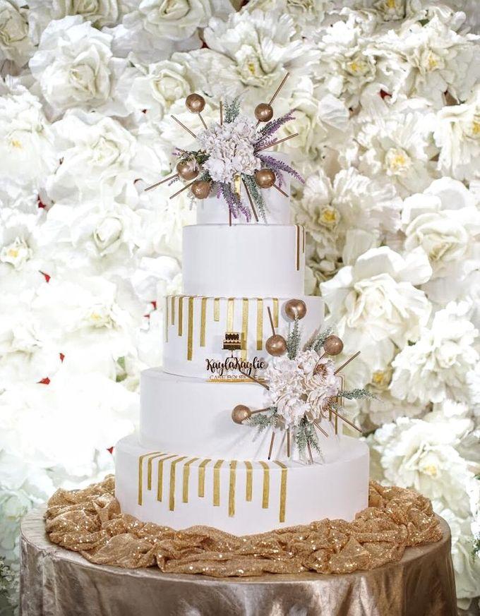 Our Wedding Cake Photo Shoot by Kaylakaylie Cake & Bakery - 015
