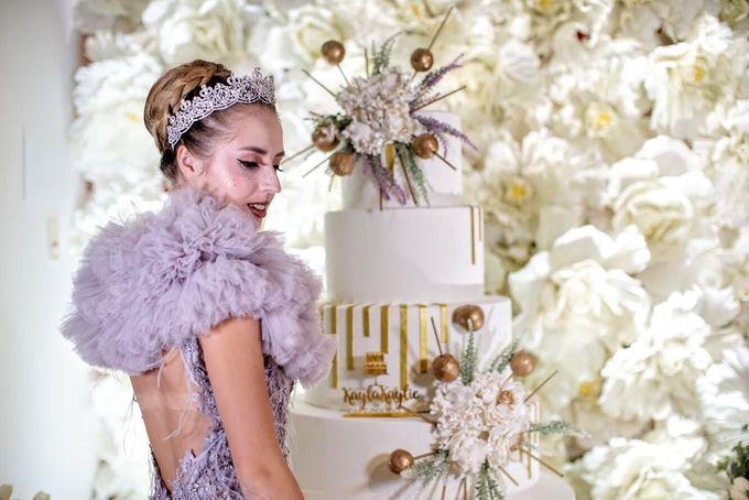 Our Wedding Cake Photo Shoot by Kaylakaylie Cake & Bakery - 016