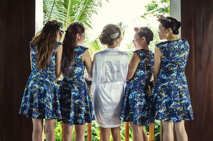 Rachel and Noel Wedding at Canggu Bali by D'studio Photography Bali - 002