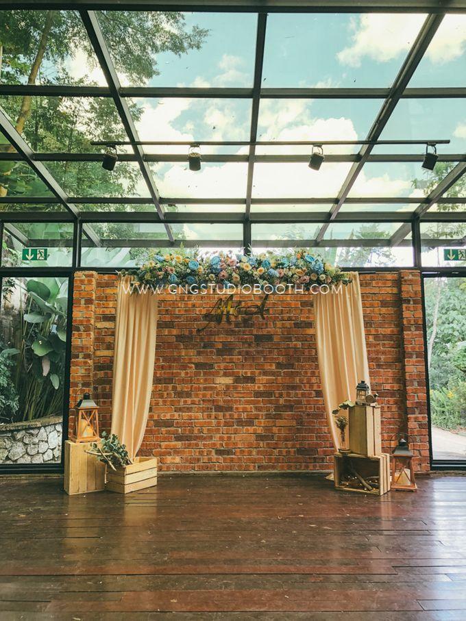 Glasshouse Seputeh Babyblue Wedding - Marcus & Annie by Glitz&Glam Studiobooth - 012