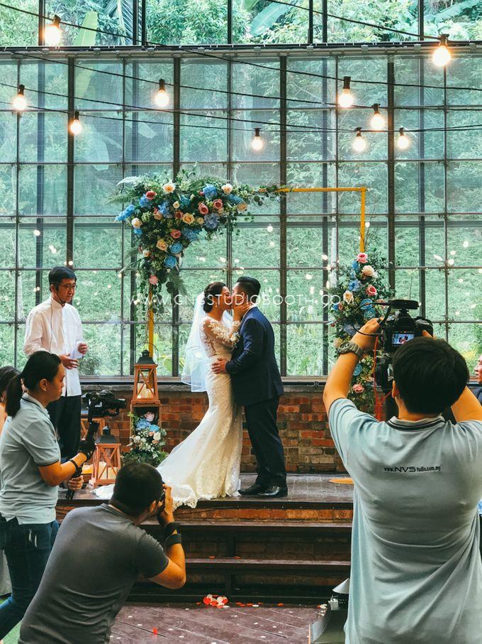 Glasshouse Seputeh Babyblue Wedding - Marcus & Annie by Glitz&Glam Studiobooth - 004