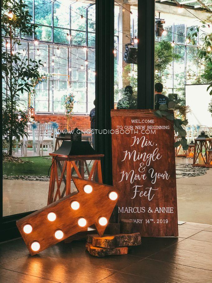 Glasshouse Seputeh Babyblue Wedding - Marcus & Annie by Glitz&Glam Studiobooth - 001