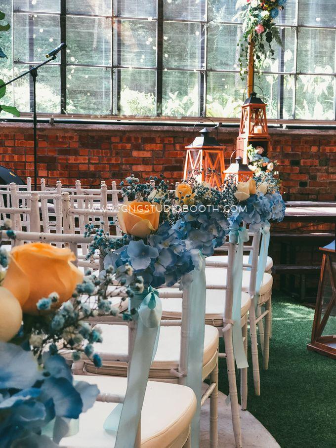 Glasshouse Seputeh Babyblue Wedding - Marcus & Annie by Glitz&Glam Studiobooth - 005
