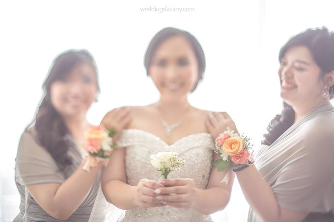 Hendry + Priscylia Wedding by Wedding Factory - 005