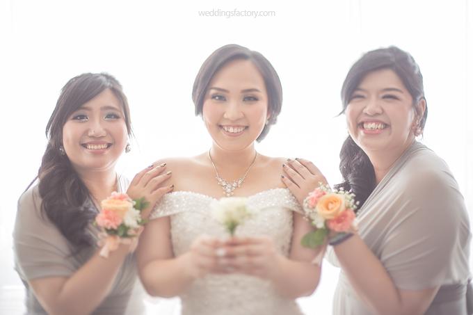 Hendry + Priscylia Wedding by Wedding Factory - 004