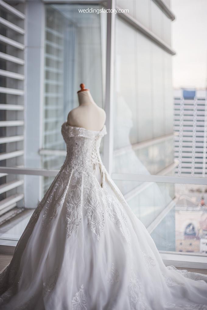 Hendry + Priscylia Wedding by Wedding Factory - 008