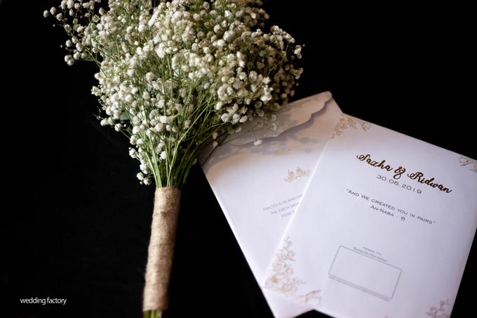 Ridwan + Sazha Wedding by Wedding Factory - 004