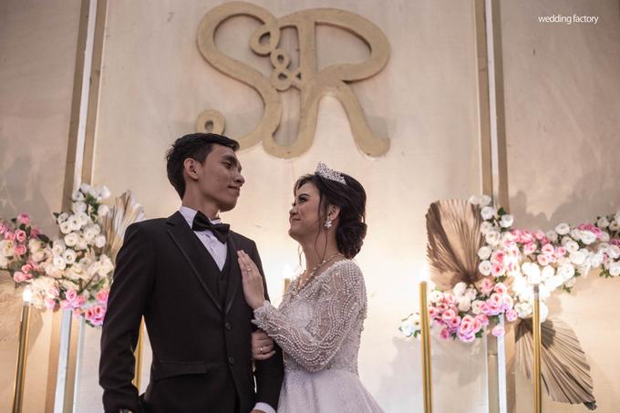 Ridwan + Sazha Wedding by Wedding Factory - 009