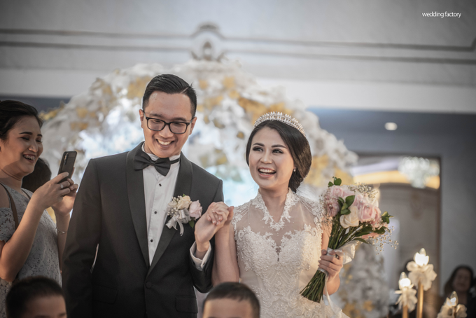 Ryan + Yuliana Wedding by Wedding Factory - 041
