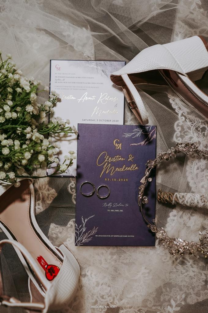 Christian + Meichealla Wedding by Wedding Factory - 003
