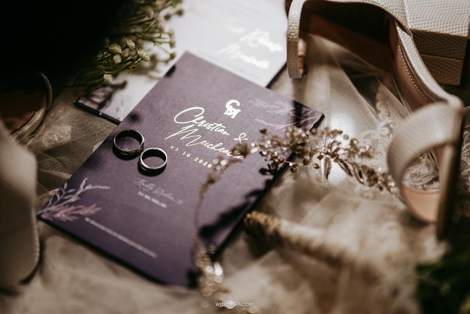 Christian + Meichealla Wedding by Wedding Factory - 011
