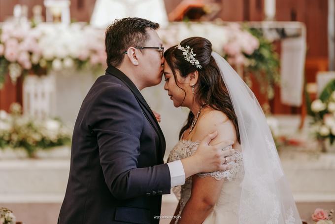 Christian + Meichealla Wedding by Wedding Factory - 012
