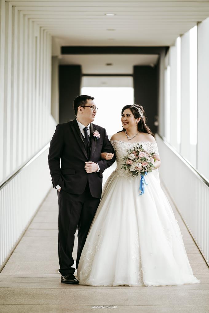 Christian + Meichealla Wedding by Wedding Factory - 017