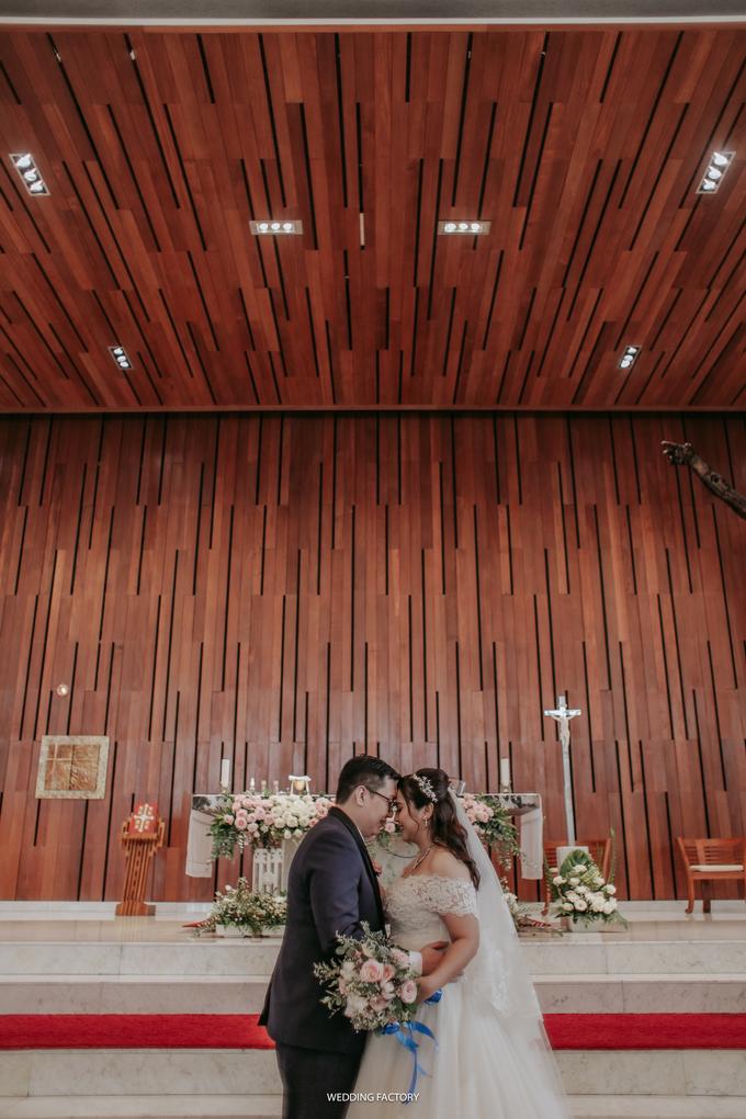 Christian + Meichealla Wedding by Wedding Factory - 029