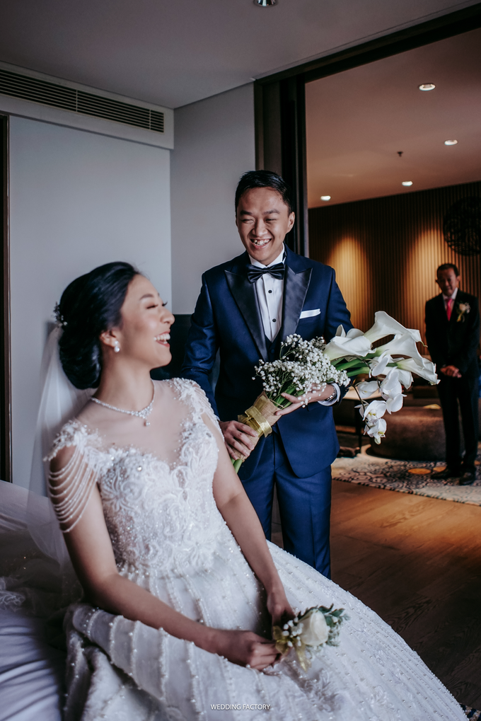 Yudha + Jessica Wedding by Wedding Factory - 003