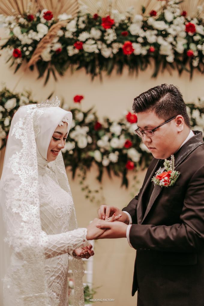 Syafiera + Rizky Wedding by Wedding Factory - 017