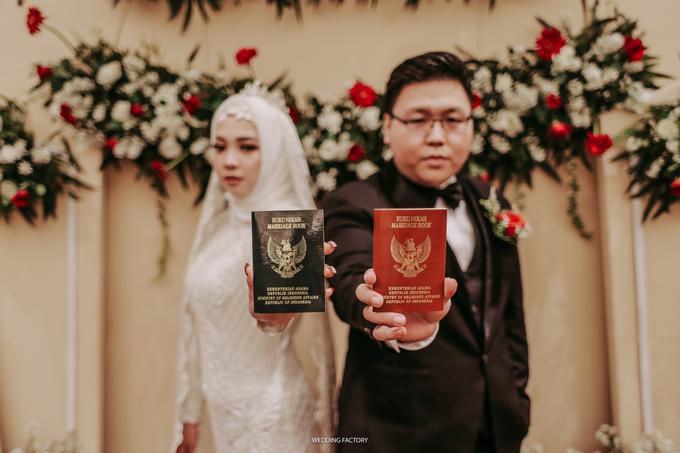 Syafiera + Rizky Wedding by Wedding Factory - 020