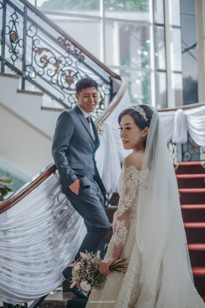 Andry + Grace Wedding by Wedding Factory - 002