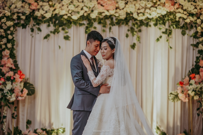 Andry + Grace Wedding by Wedding Factory - 003