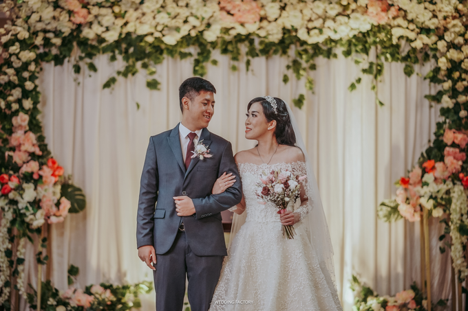Andry + Grace Wedding by Wedding Factory - 004