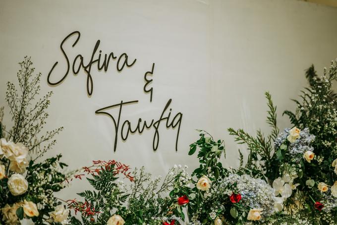 Taufiq + Safira Wedding by Wedding Factory - 014