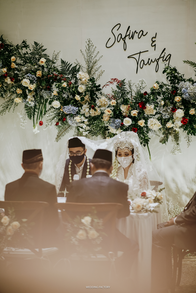 Taufiq + Safira Wedding by Wedding Factory - 020