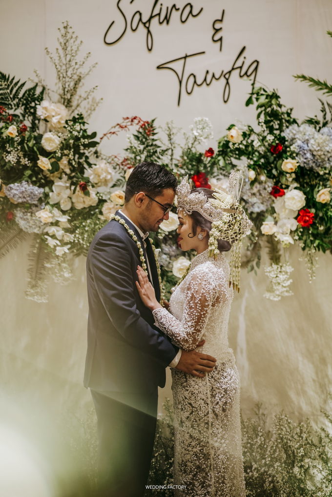 Taufiq + Safira Wedding by Wedding Factory - 033