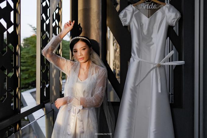 Andro + Melna Wedding by Wedding Factory - 004