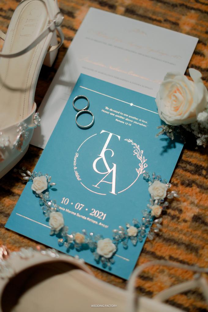 Adhitya + Thania Wedding by Wedding Factory - 006