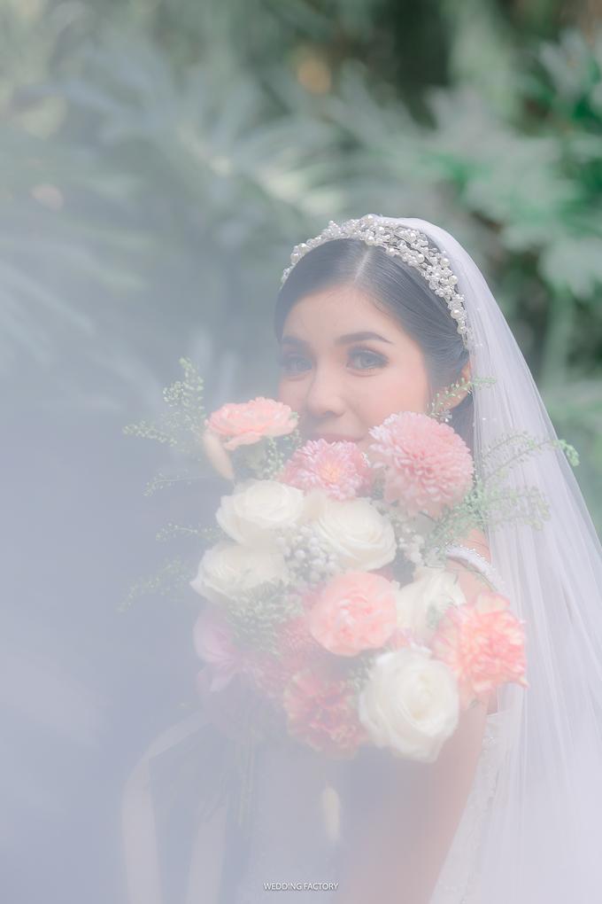 Ray + Nathania Wedding by Wedding Factory - 007
