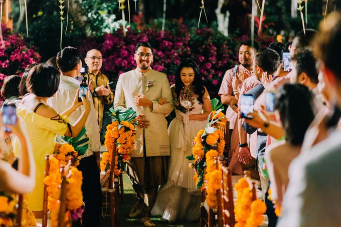 The Beautiful Multicultural Wedding of George & Yaya by d'Oasis Florist & Decoration - 019