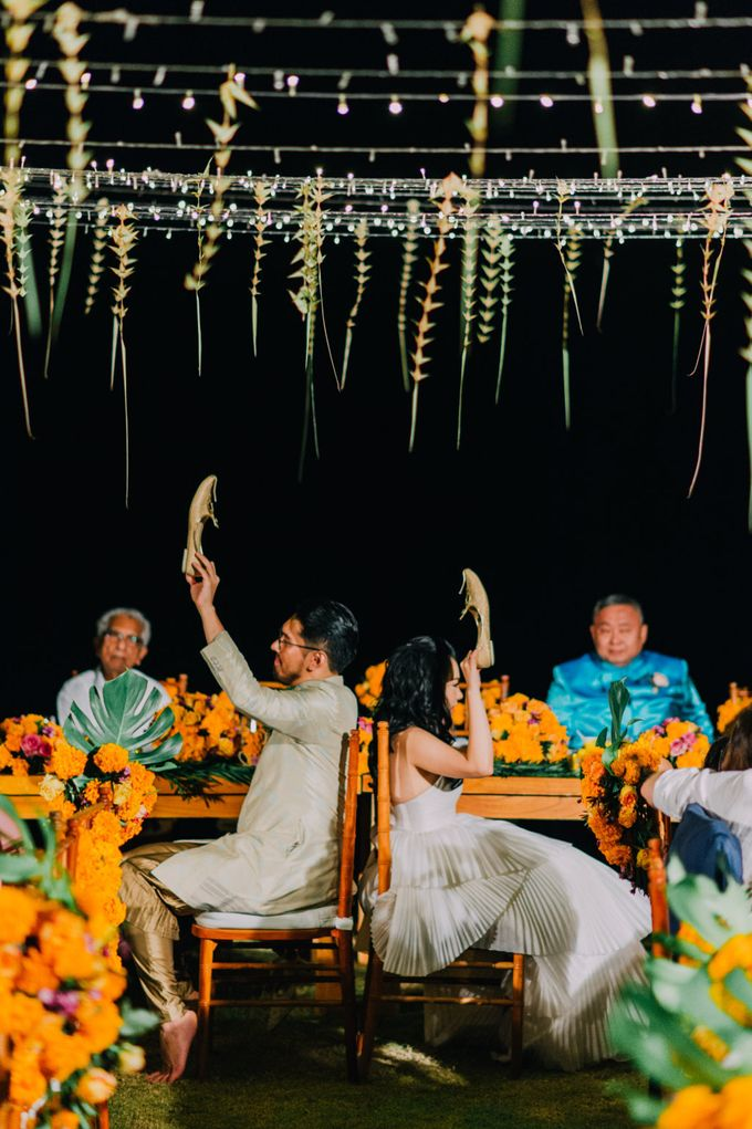 The Beautiful Multicultural Wedding of George & Yaya by d'Oasis Florist & Decoration - 018