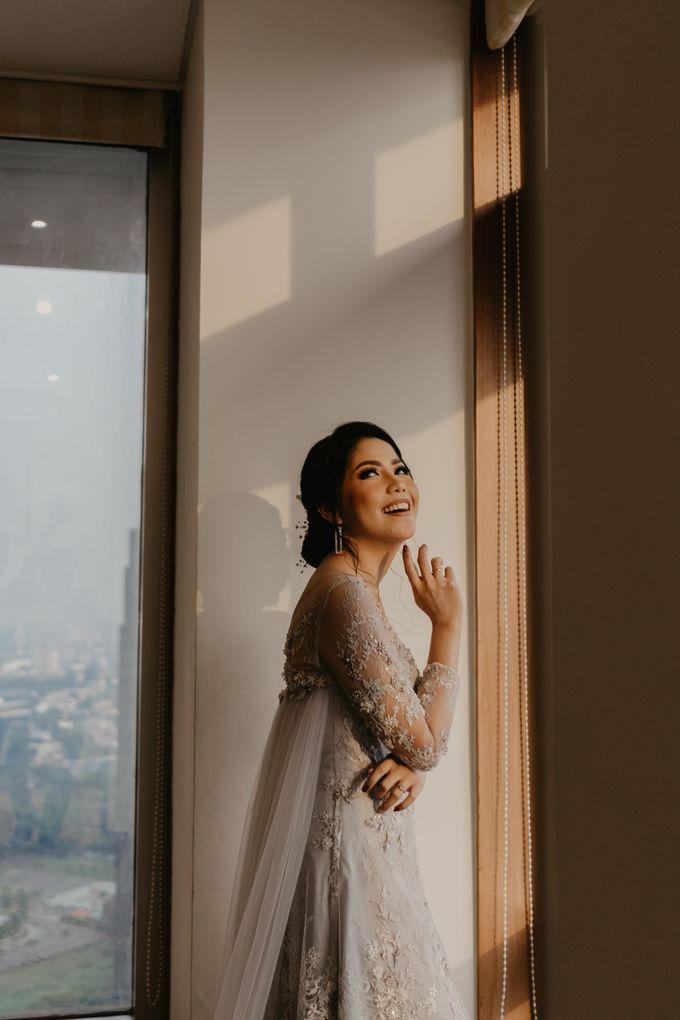 Harrison & lusi Wedding at Financial Club CIMB Niaga by Financial Club Jakarta - 012