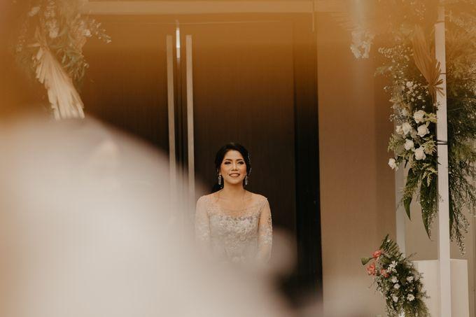 Harrison & lusi Wedding at Financial Club CIMB Niaga by Financial Club Jakarta - 015