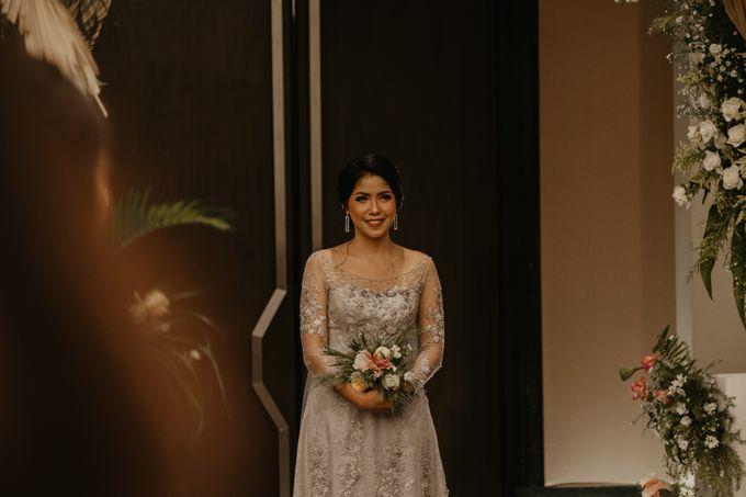 Harrison & lusi Wedding at Financial Club CIMB Niaga by Financial Club Jakarta - 016