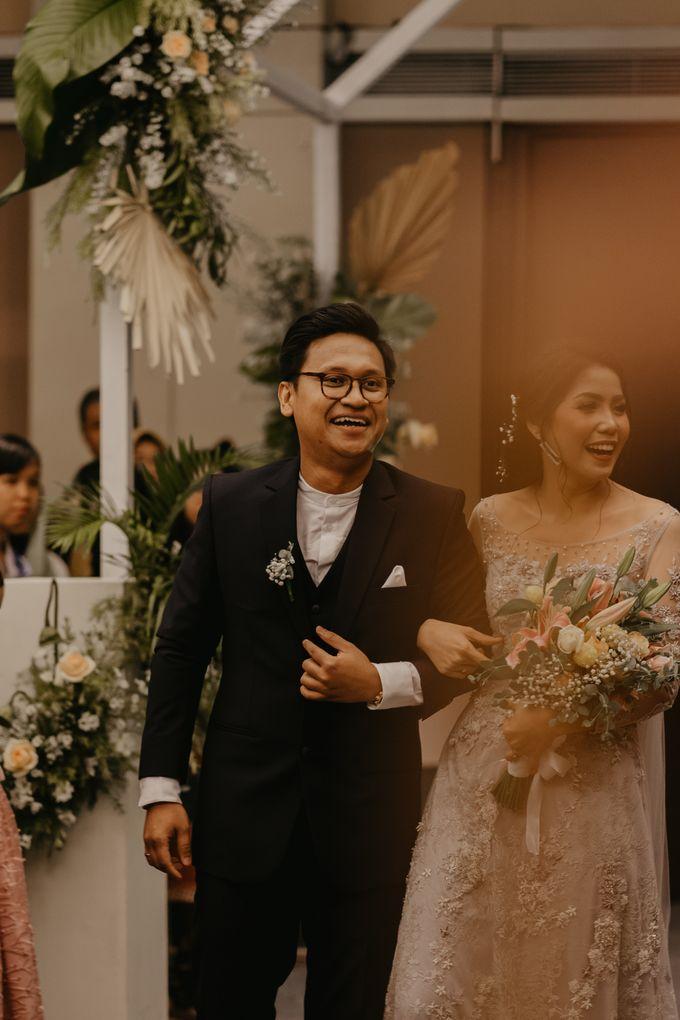 Harrison & lusi Wedding at Financial Club CIMB Niaga by Financial Club Jakarta - 019