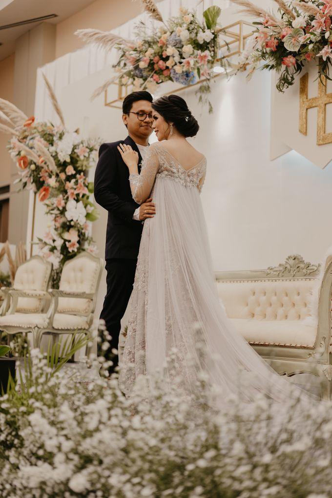 Harrison & lusi Wedding at Financial Club CIMB Niaga by Financial Club Jakarta - 022