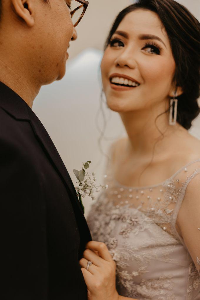 Harrison & lusi Wedding at Financial Club CIMB Niaga by Financial Club Jakarta - 023