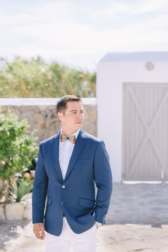 An amazing wedding in Mykonos by Elias Kordelakos - 005