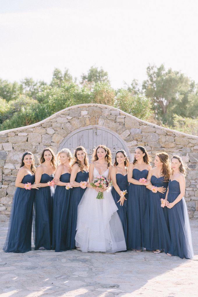 An amazing wedding in Mykonos by Elias Kordelakos - 014